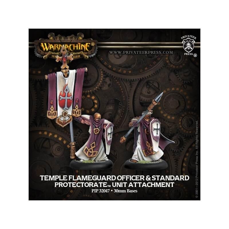 Temple Flameguard Officer & Standard