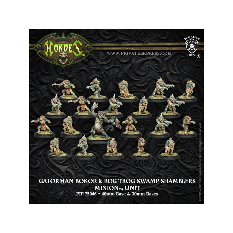 Gatorman Bokor & Bog Trog Swamp Shamblers