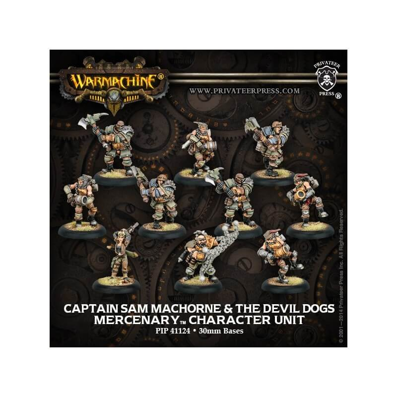 Captain Sam MacHorne & The Devil Dogs