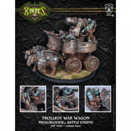 Trollkin War Wagon