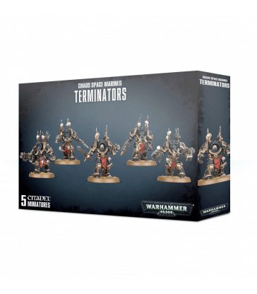 Chaos Space Marine Terminators