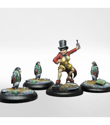 Yuliya et ses pingouins