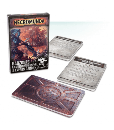 Necromunda: Badzone Environments & Events Cards (Anglais)