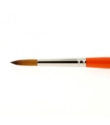 Pinceau Kaërell Orange Taille 0/2