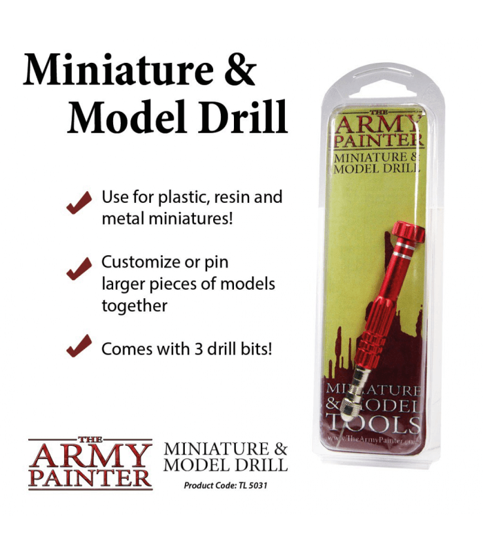 Miniature and Model Drill (Perceuse et foret)