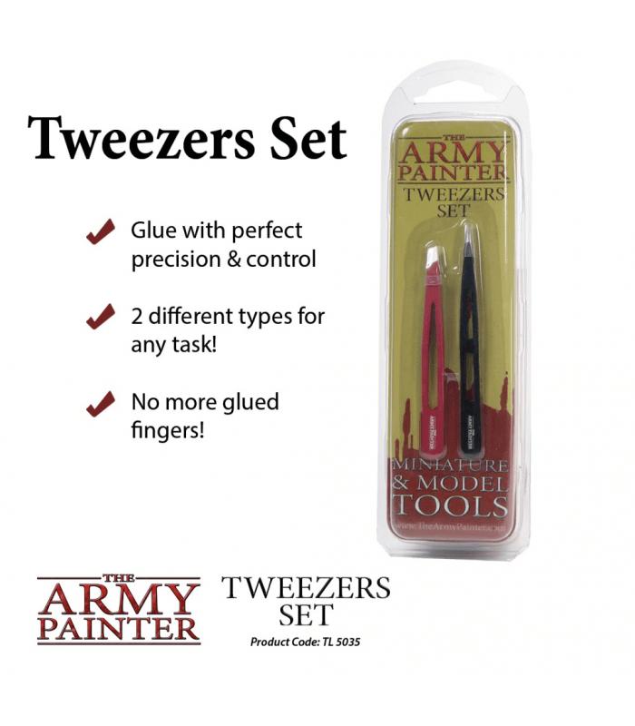 Tweezers Set (Pince à épiler)