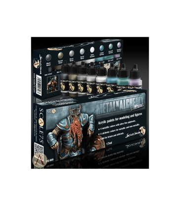 METAL'N ALCHEMY STEEL Paint Set