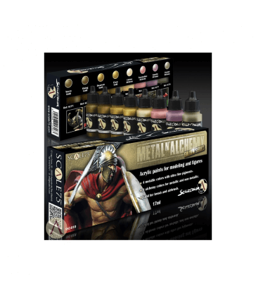 METAL'N ALCHEMY GOLDEN Paint Set