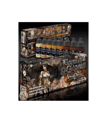 STEAM AND PUNK Paint Set