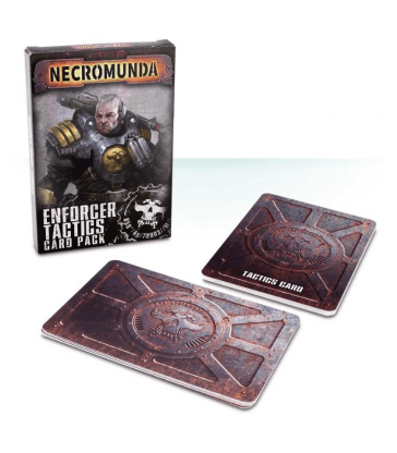 NECROMUNDA ENFORCER TACTICS CARD PACK
