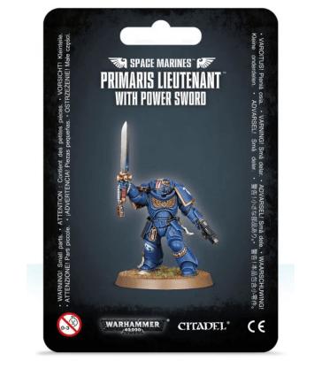 Primaris Lieutenant avec épée énergétique