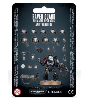 Améliorations et décalcomanies Raven Guard Primaris