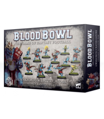 Lizardmen Blood Bowl Team
