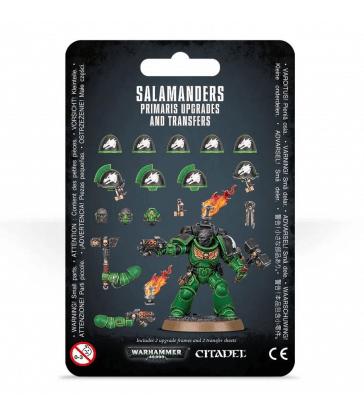 Améliorations et décalcomanies Salamanders Primaris