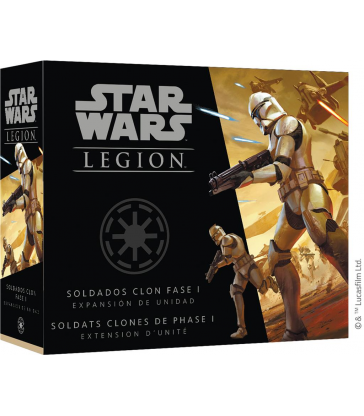 Star Wars Légion : Soldats clones phases 1
