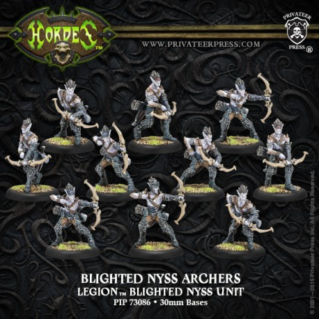 Blighted Nyss Archers/Swordsmen