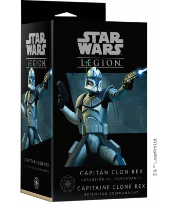 Star Wars : Légion : Capitaine Clone Rex