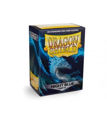Dragon Shield MATTE - Night Blue (100 ct.)