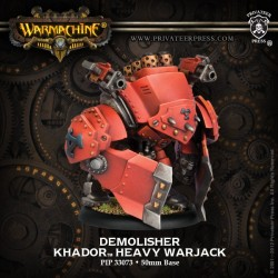 Demolisher/Devastator/Spriggan Heavy Warjack Kit