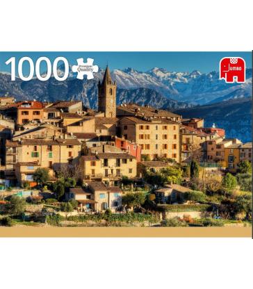 Puzzle 1000 pcs  Alpes  Côte d'Azur