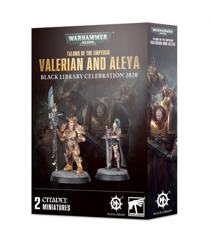 Talons of the Emperor: Valerian et Aleya