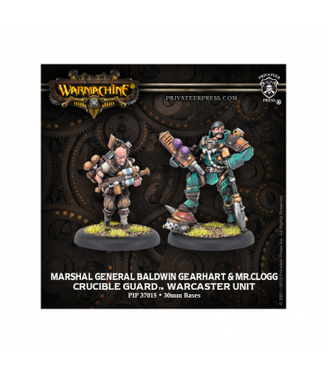 Marshal General Baldwin Gearhart & Mr Clogg