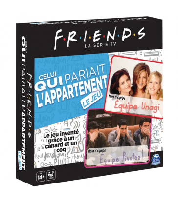 Friends - Celui qui pariait l'appartement