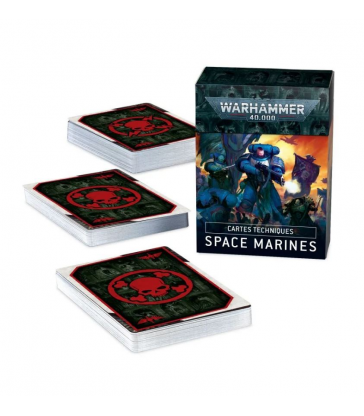 Cartes Techniques: Space Marines
