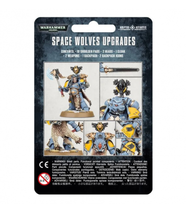 Pack d'amélioration Space Wolves