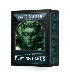 Warhammer 40,000: cartes à jouer Indomitus