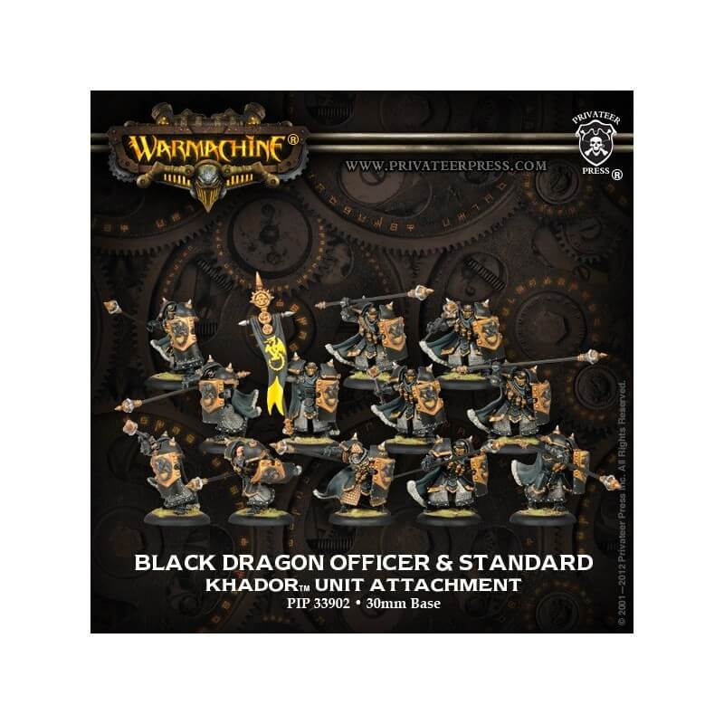 Black Dragon, Kit d'upgrade d'unité Iron Fang Pikemen