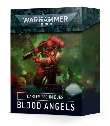 Cartes Techniques: Blood Angels