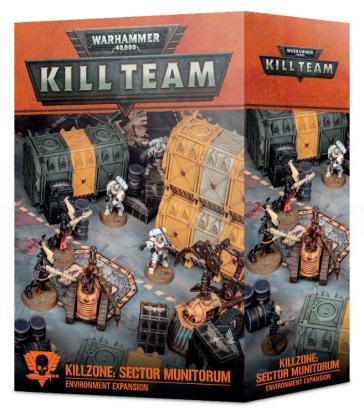 Extension d'Environnement Kill Team  Killzone: Sector Munitorum