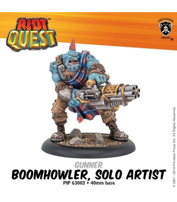 Boomhowler, Solo Artist