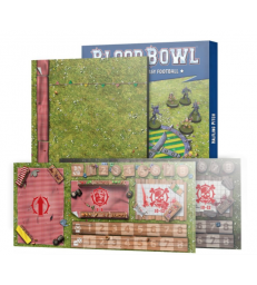 Blood Bowl Halfling Pitch: Double-sided Pitch and Dugouts (Anglais)