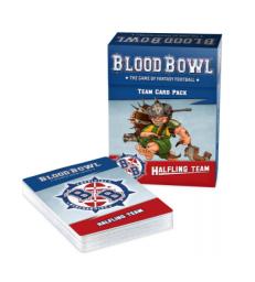 Blood Bowl Halflings Team Card Pack (Anglais)