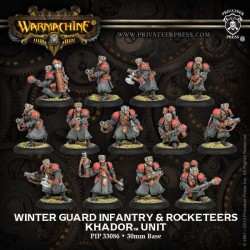 Winter Guard Infantry & Rocketeers