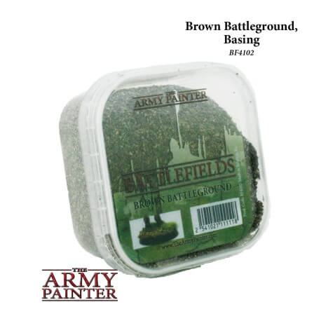 Battlefields: Brown Battleground basing