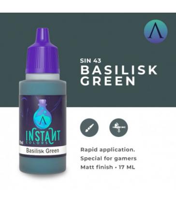 BASILISK GREEN
