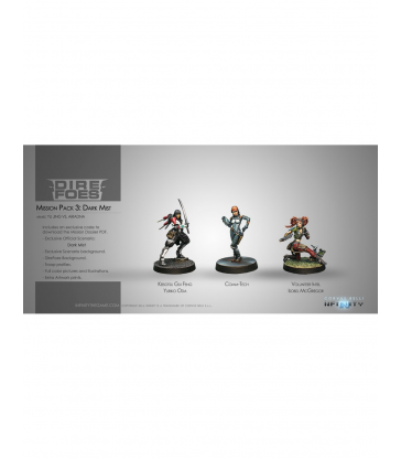 Infinity - Dire Foes Mission Pack 3