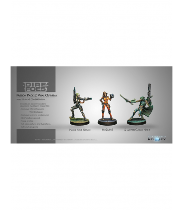 Infinity - Dire Foes Mission Pack 5 - Viral outbreak