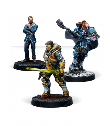 Infinity Code One - Dire Foes Mission Pack : Retaliation
