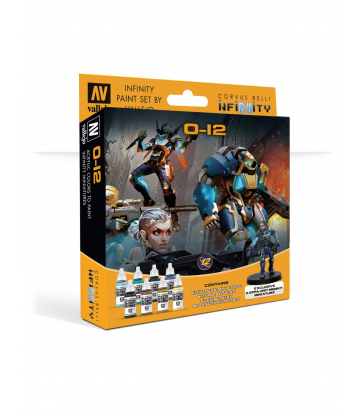 Infinity - Model Color Set: Infinity O-12 Exclusive Miniature