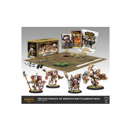 Menoth Battlegroup Box Starter Warmachine MK3