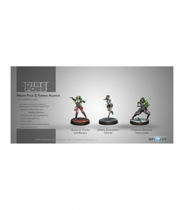 Infinity - Dire Foes Mission Pack 2
