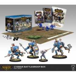 Cygnar Battlegroup Box Starter Warmachine MK3
