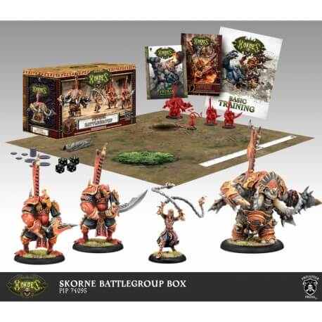 Scyrah Battlegroup Box Starter Warmachine MK3