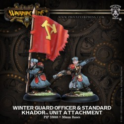 Winter Guard Officer & Standard Bearer