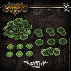 Mercenaires, set de marqueurs 2016