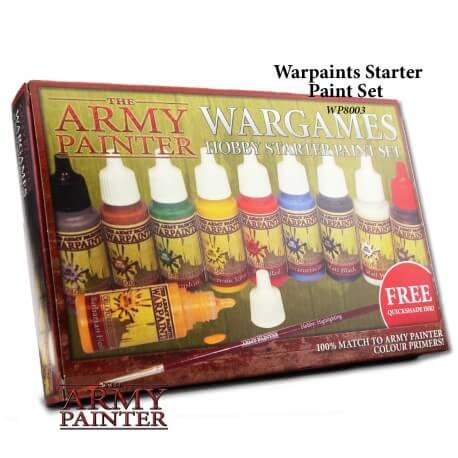 Warpaints Starter Paint Set